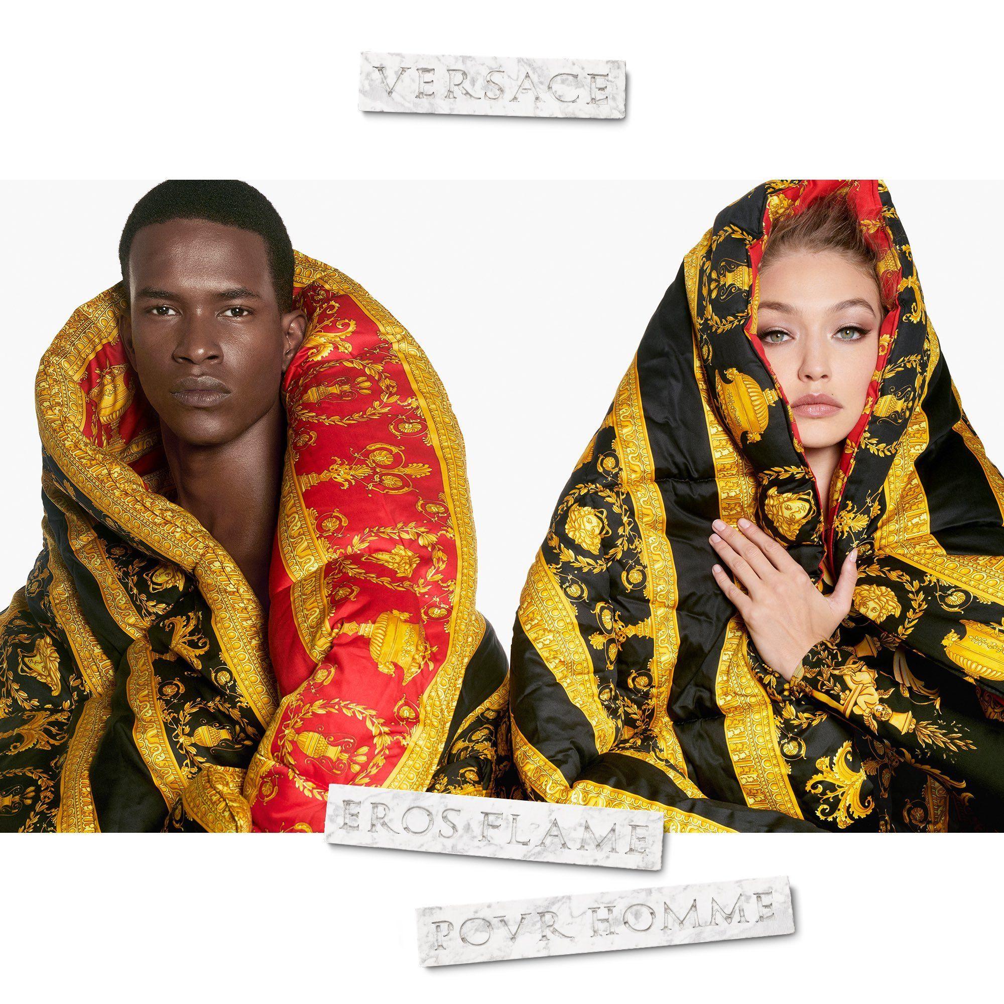 Eros Flame Versace una nuova fragranza da uomo 2018